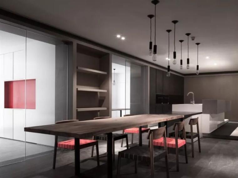 广州现代原木简约风格的办公空间