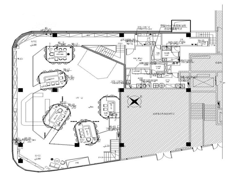 珠海胡桃里音乐餐厅电气施工图
