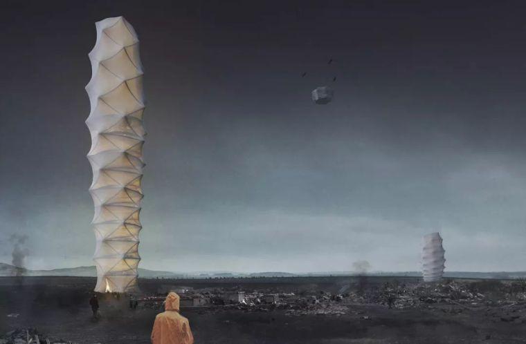 摩托大楼建筑设计模型获奖作品