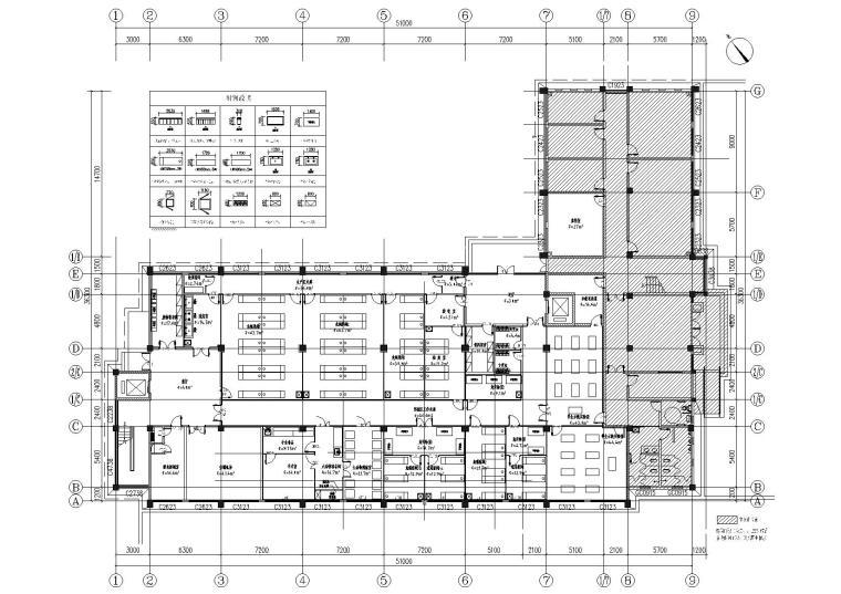 B8动物研究所净化装修、空调及控制系统图纸