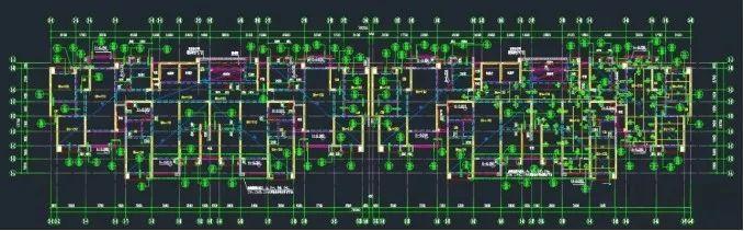铝合金模板伸缩缝位置设计及施工方法