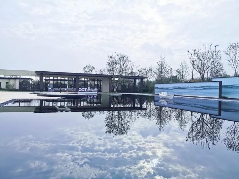 济南华侨城·欢乐湖畔示范区景观