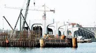 桥梁施工作业平台结构设计、计算及施工过程