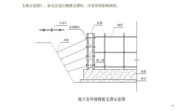 高层建筑地下室施工方案