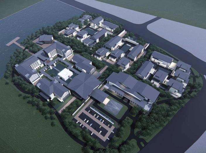 [江西]绿地萍乡国宾馆规划建筑方案设计文本