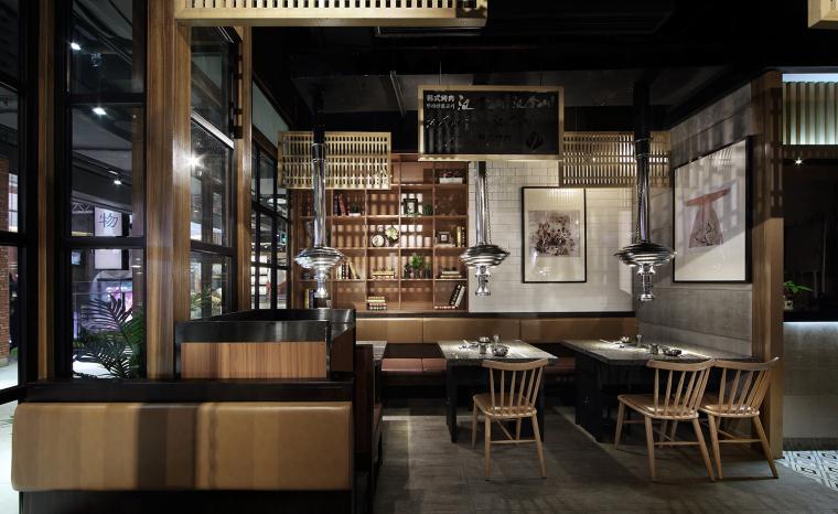 餐饮空间设计:汉拿山韩式烤肉_2