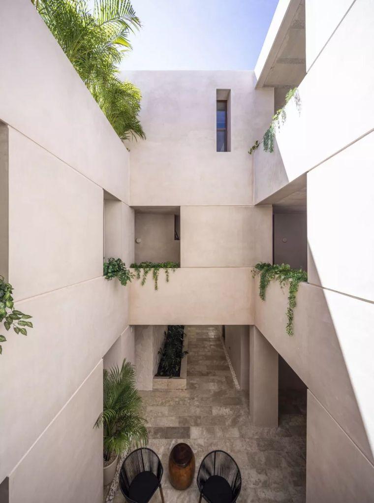联排+独立住宅设计:墨西哥图鲁姆Kiki别墅