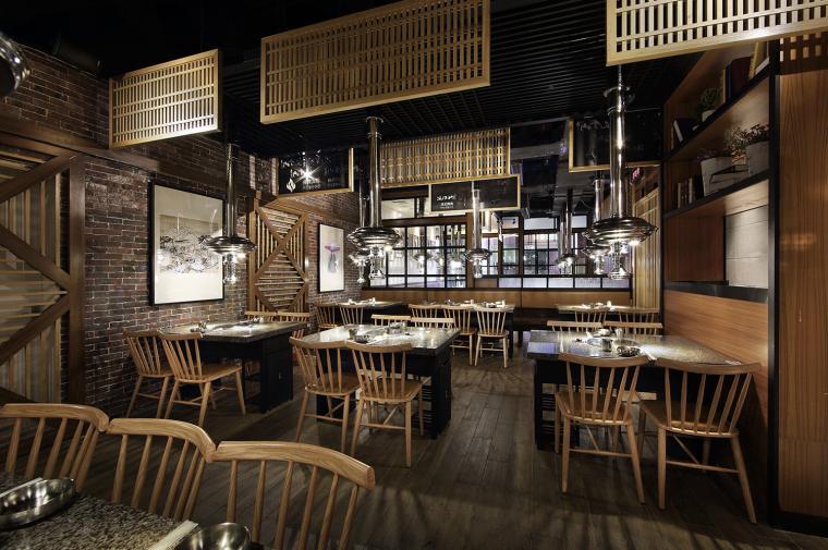 餐饮空间设计:汉拿山韩式烤肉_4