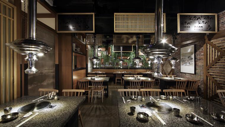 餐饮空间设计:汉拿山韩式烤肉_8
