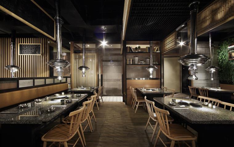 餐饮空间设计:汉拿山韩式烤肉_7
