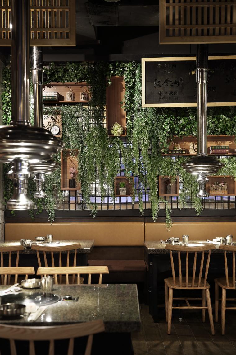 餐饮空间设计:汉拿山韩式烤肉_9