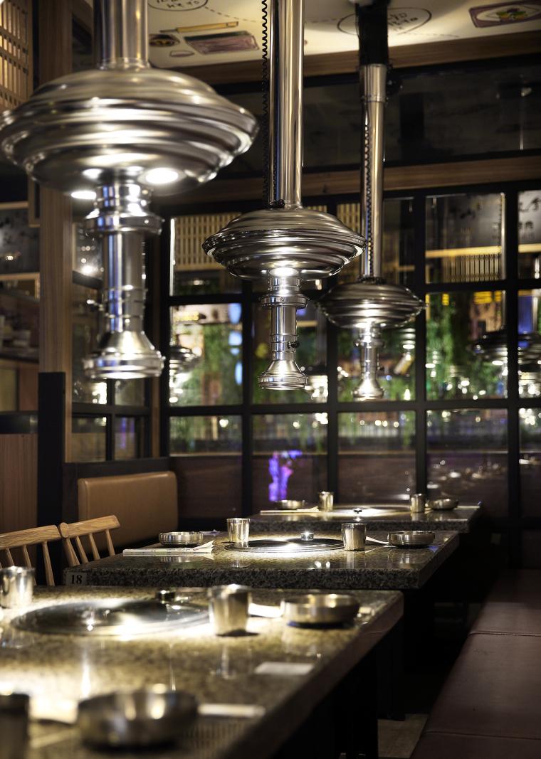 餐饮空间设计:汉拿山韩式烤肉_10