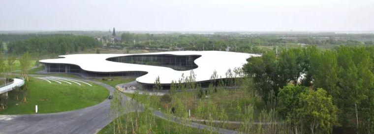 美术馆设计模型资料下载-悬挑的屋顶设计——山东·济宁美术馆
