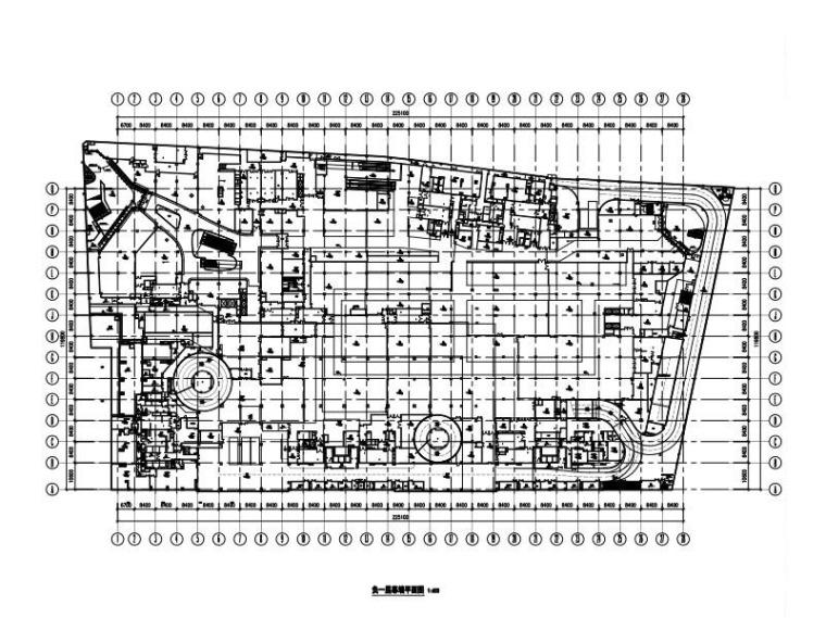 5层商业裙房幕墙施工图(玻璃/铝板/石材)