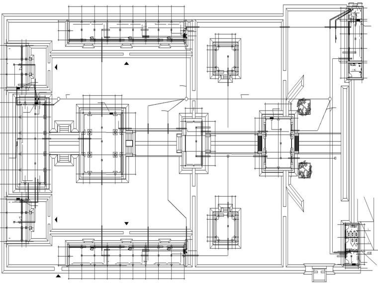 古建筑电气施工图_古庙电气设计
