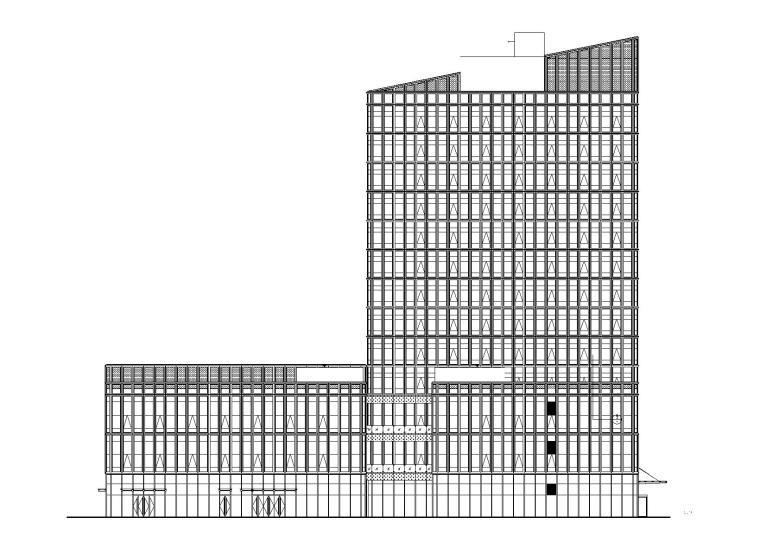 某特大型農產品電商物流園項目建筑施工圖