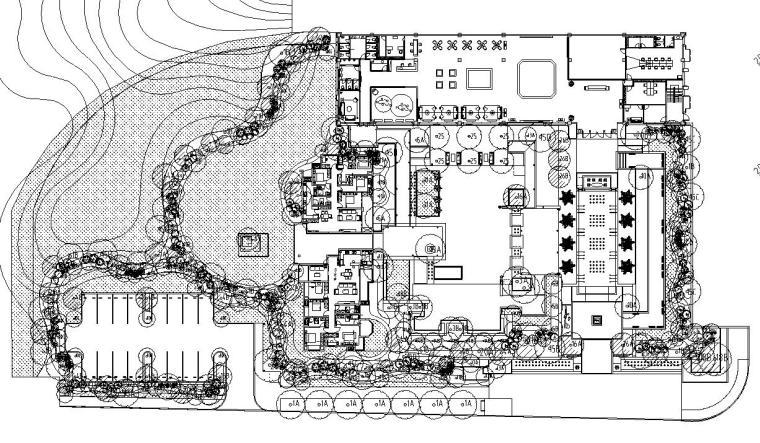 龙湖重庆新江与城景观植物CAD施工图
