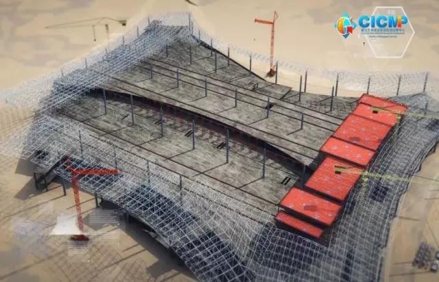 江北机场T3A航站楼BIM应用案例