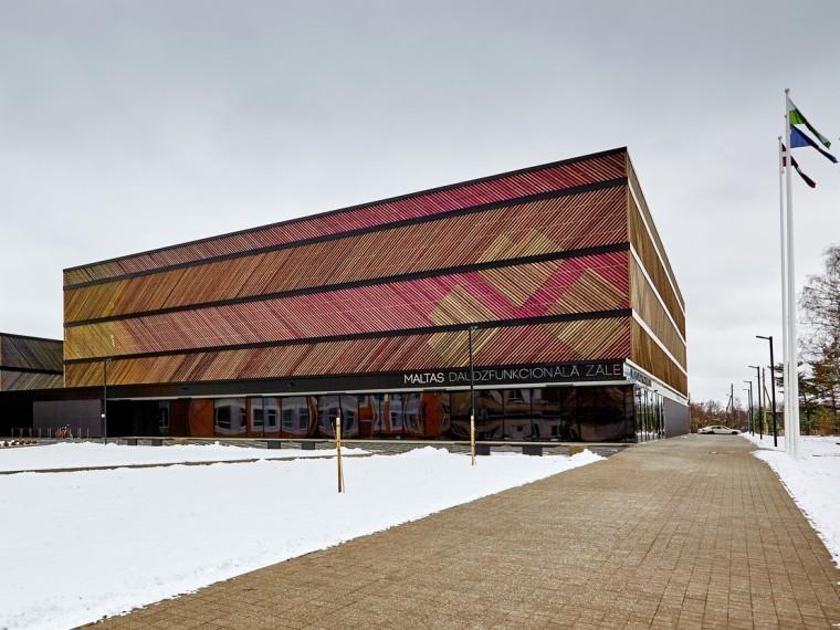 拉脱维亚马耳他多功能厅