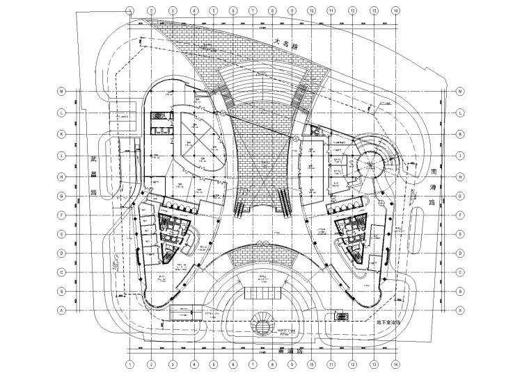 [上海]北外滩CBD酒店施工图扩初归档+PDF图