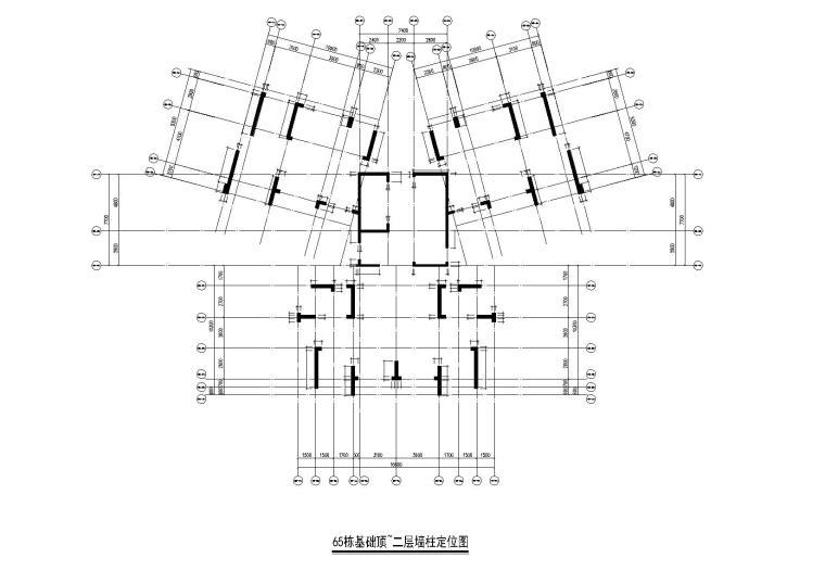 某三十二层住宅楼结构施工图纸