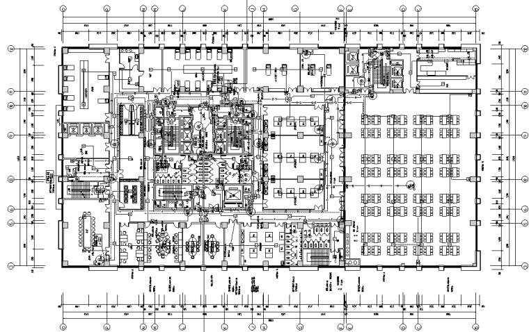 湖南知名医学院教学科研楼全套施工图