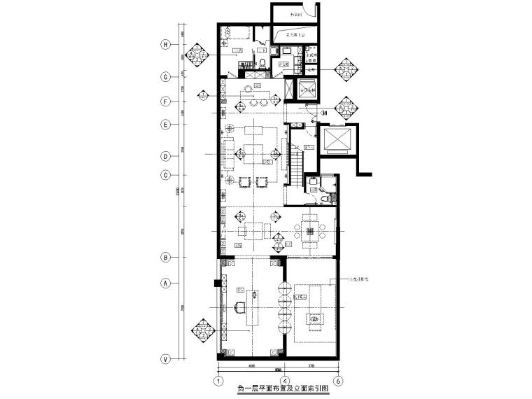 郑州雅居乐215下叠新中式别墅样板间装修图
