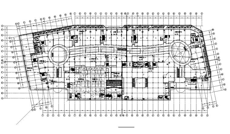 上海大型商业购物中心电气施工图(含弱电)