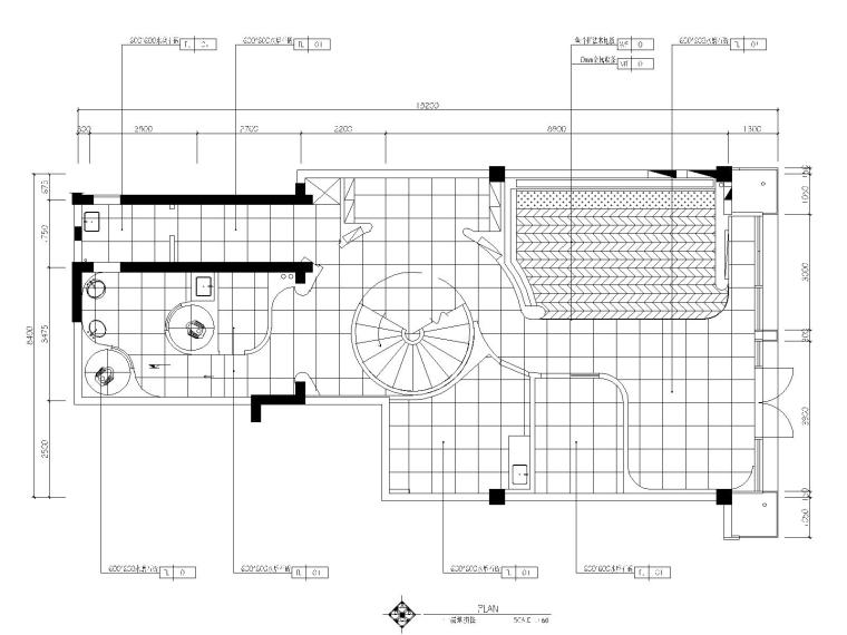 4一层地坪图