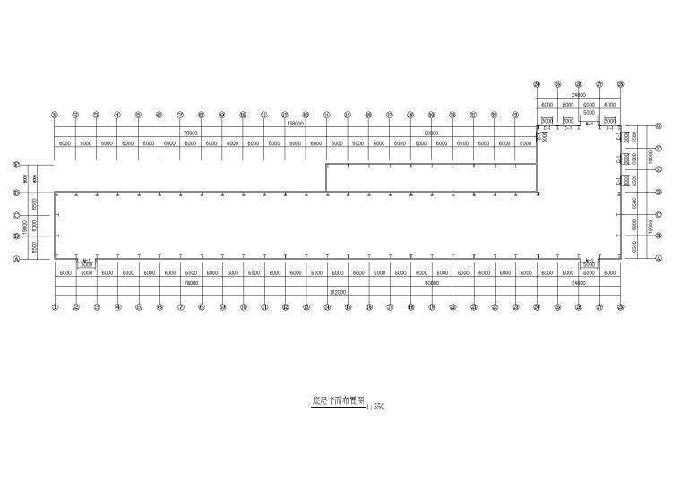 19米单跨门式刚架厂房结构施工图纸