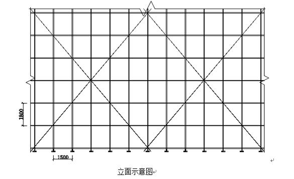 地下部分落地式外脚手架施工方案(含计算)