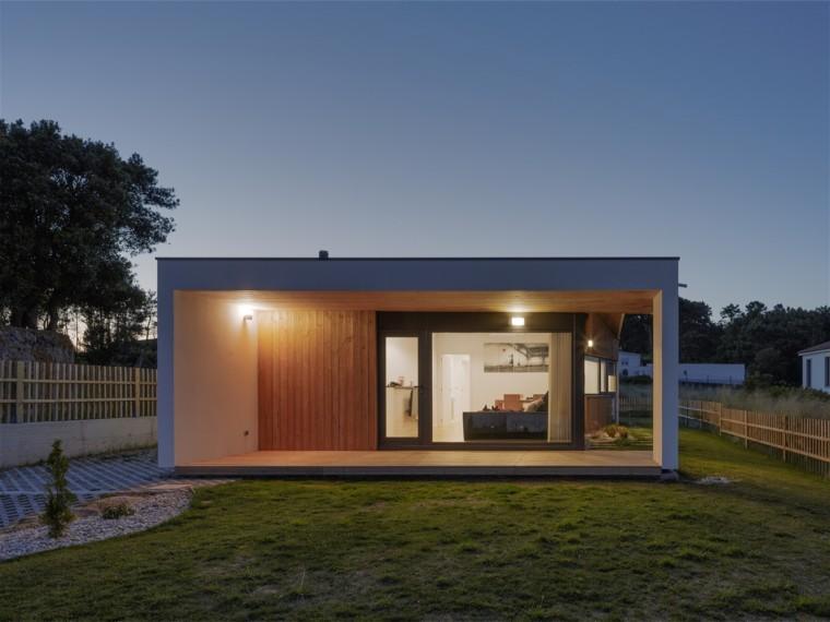 西班牙小生物气候房屋