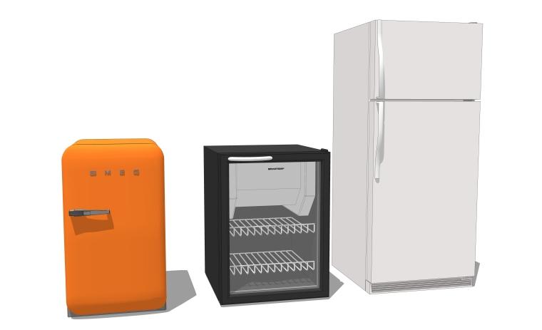 室内装修厨房用品SU模型设计(2)