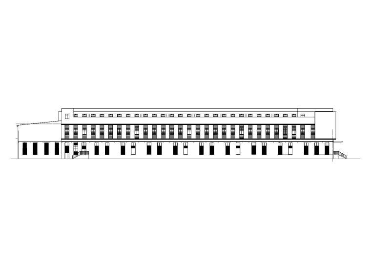 [贵州]航空食品楼建筑施工图(含招标文件)