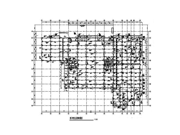 9層大學圖書館框架結構施工圖(加氣砼砌塊)