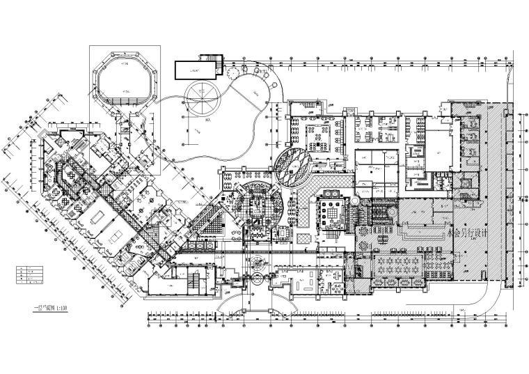 [福建]厦门海滨风五星级酒店室内装饰施工图