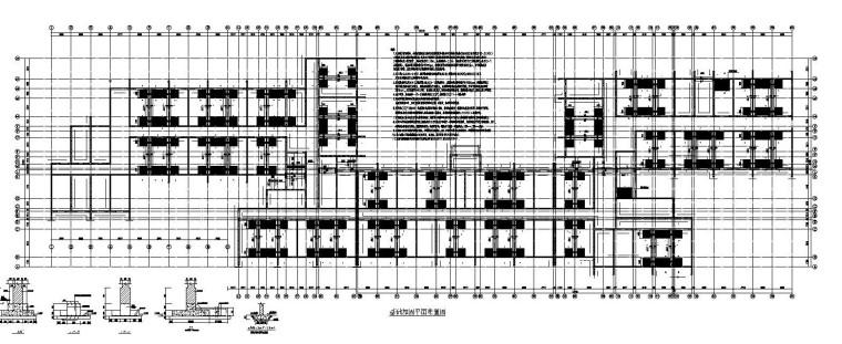 某砖混结构幼儿园加固施工图(CAD)