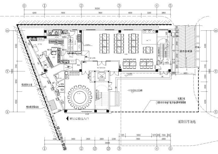 仁怀市中国农业银行办公楼装修项目施工图