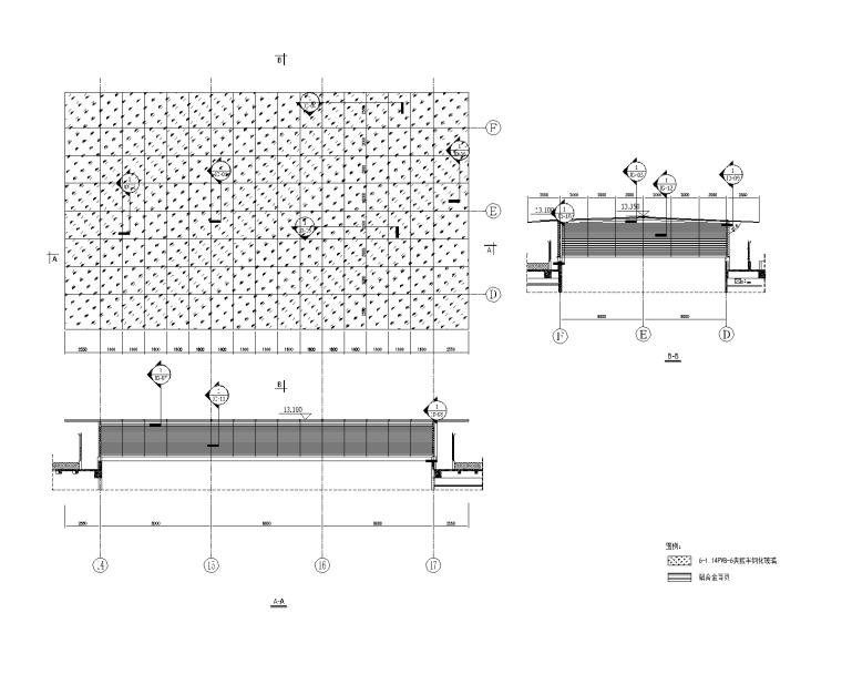 钢结构玻璃采光顶招标图纸(含招标文件)