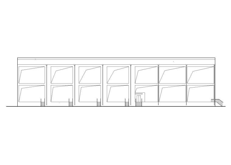 [贵州]不锈钢罐酒库建筑施工图(含招标文件)