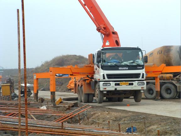 建筑施工技术之混凝土工程施工过程