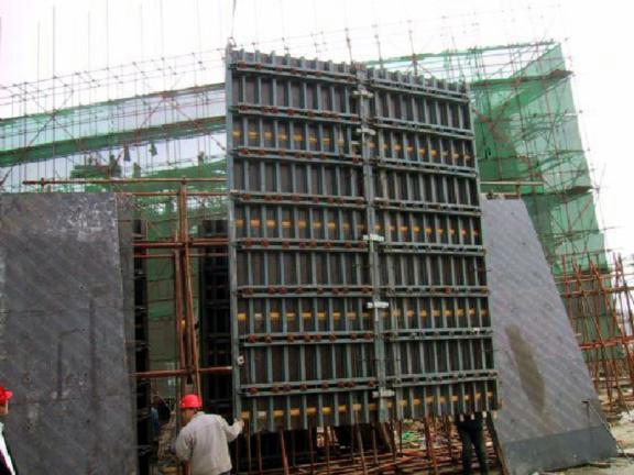 钢木大模板