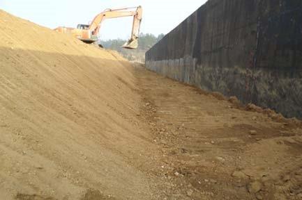 道路工程桥涵台背回填施工技术交底记录
