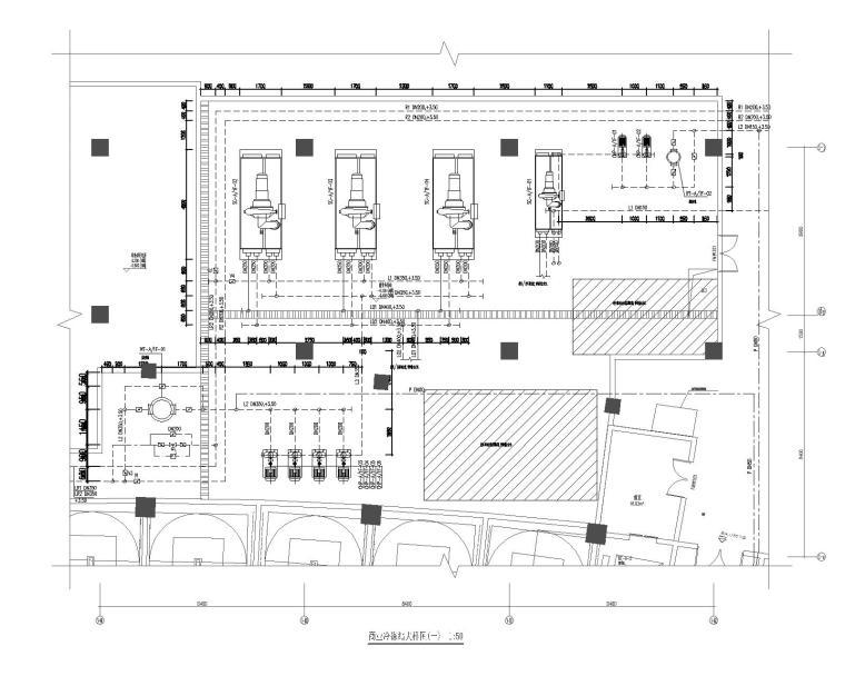 重庆万州未来城商业综合楼暖通设计施工图