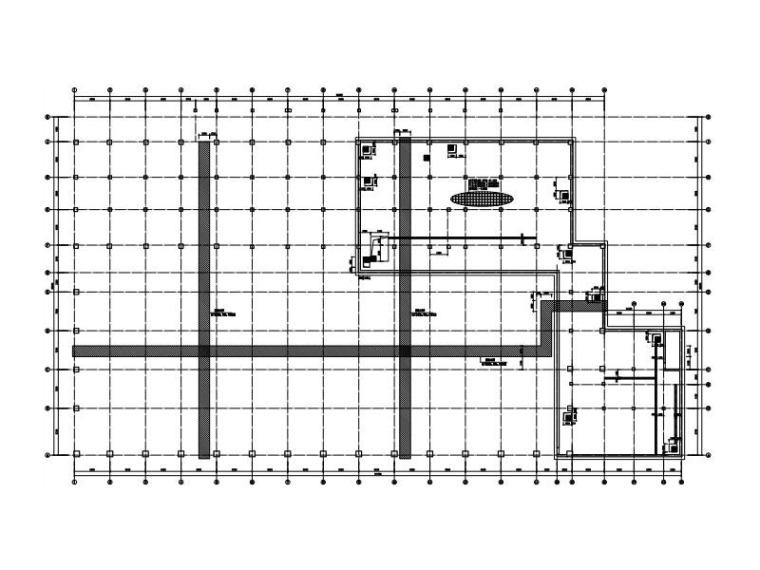 3层游泳馆框架结构施工图平面桁架屋盖2017