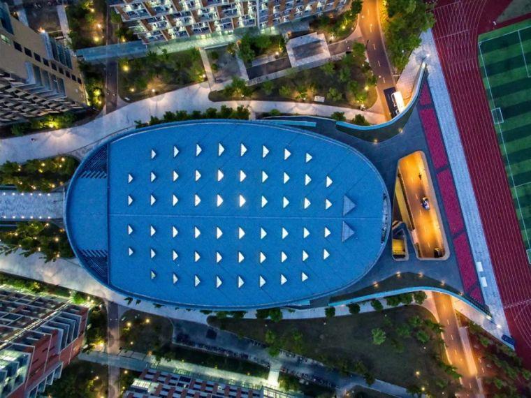作品|上海科技大学体育馆