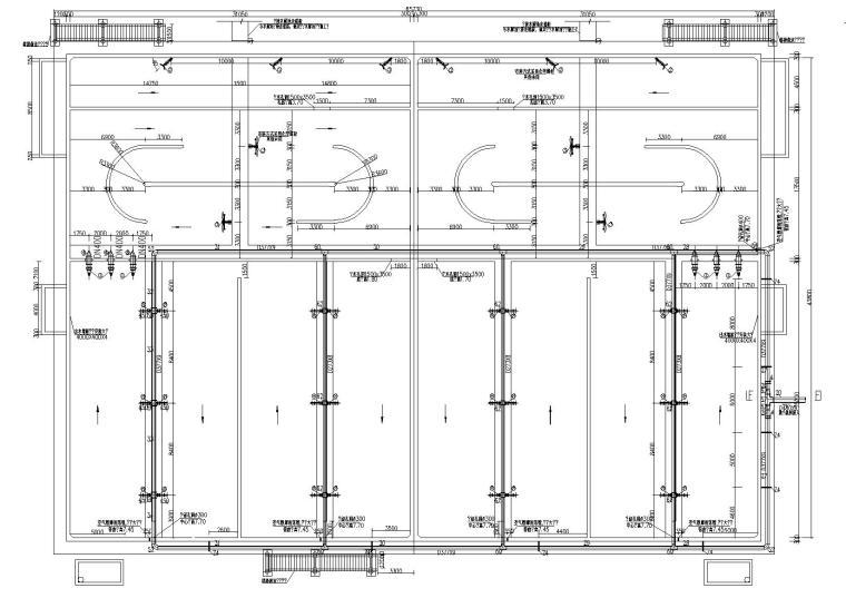 某污水处理厂新建改良型AAO生化池工艺图