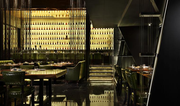 体验室内设计资料下载-餐饮室内设计[艺鼎设计]TOKU新派日式料理