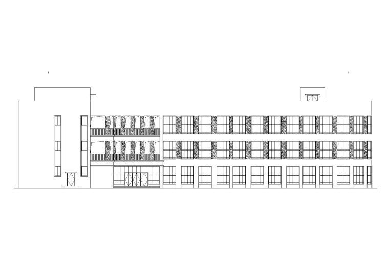 [贵州]花孟社区幼儿园建筑施工图
