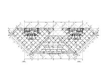 高低兩棟框剪結構辦公樓全專業施工圖2014